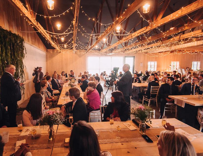 Velkorysý prostor pro vaši svatbu